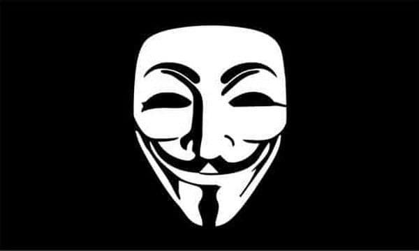 Guy Fawkes Anti-Government Flag